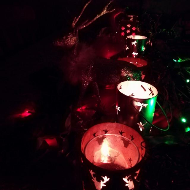 """""""Christmas Lights"""" stock image"""