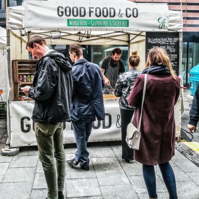 """Good Food"" stock image"