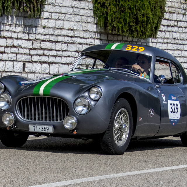 """Fiat 8V 1954"" stock image"