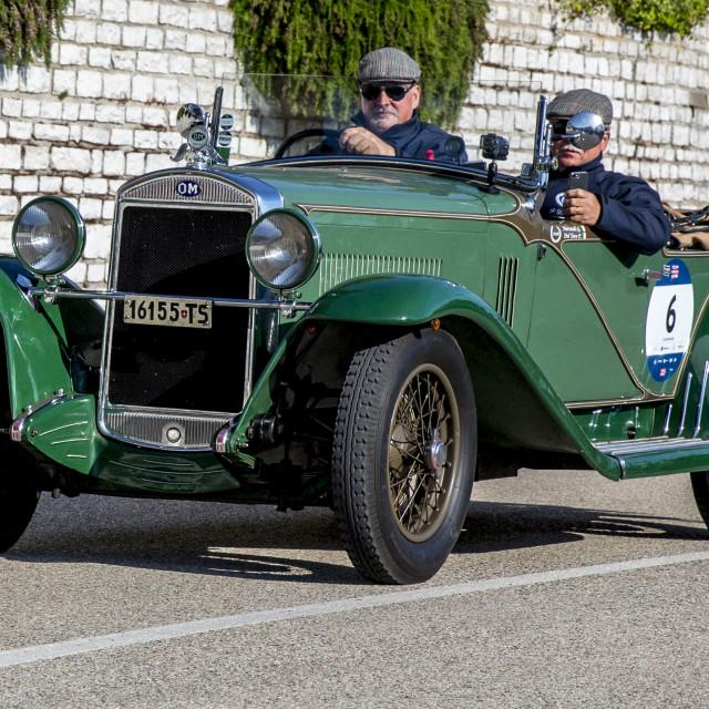 """O.M. 665 S SUPERBA 2000 1929"" stock image"