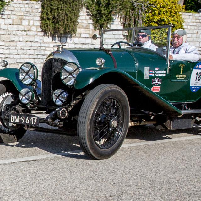 """""""Bentley 3 Litre 1925"""" stock image"""