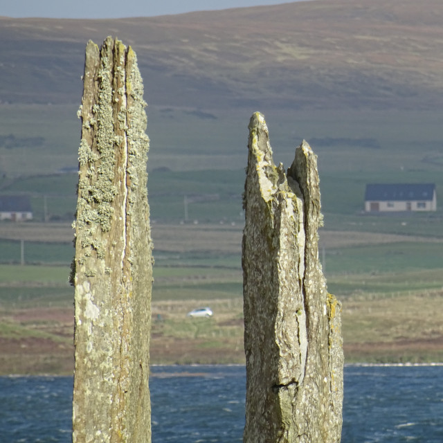 """Ring of Brodgar, Orkney Scotland"" stock image"