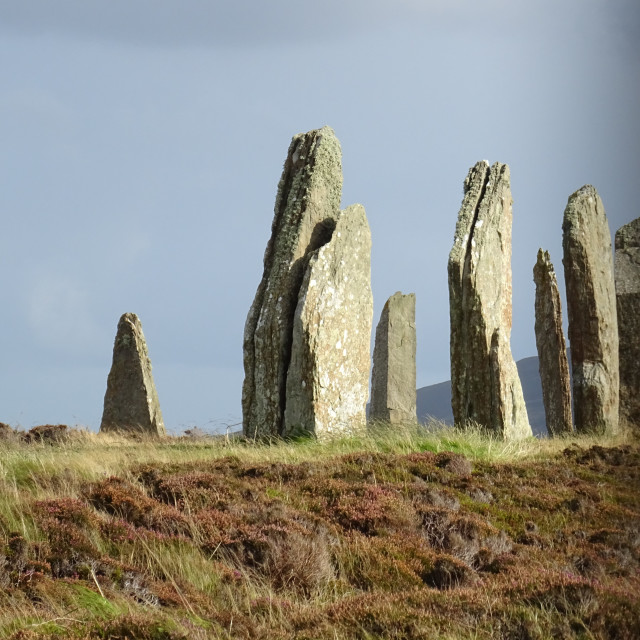 """Ring of Brodgar, Orkney"" stock image"