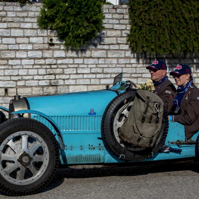"""""""BUGATTI T 35 GRAND PRIX 1925"""" stock image"""