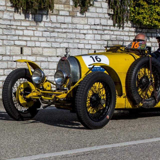 """""""BUGATTI T 35 A 1925"""" stock image"""