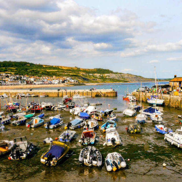 """The Cobb, Harbour"" stock image"
