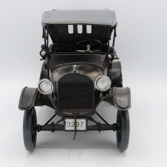 """Antique model car"" stock image"