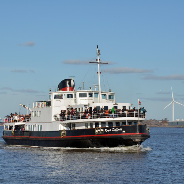 """""""Mersey Ferry Boat Royal Daffodil"""" stock image"""
