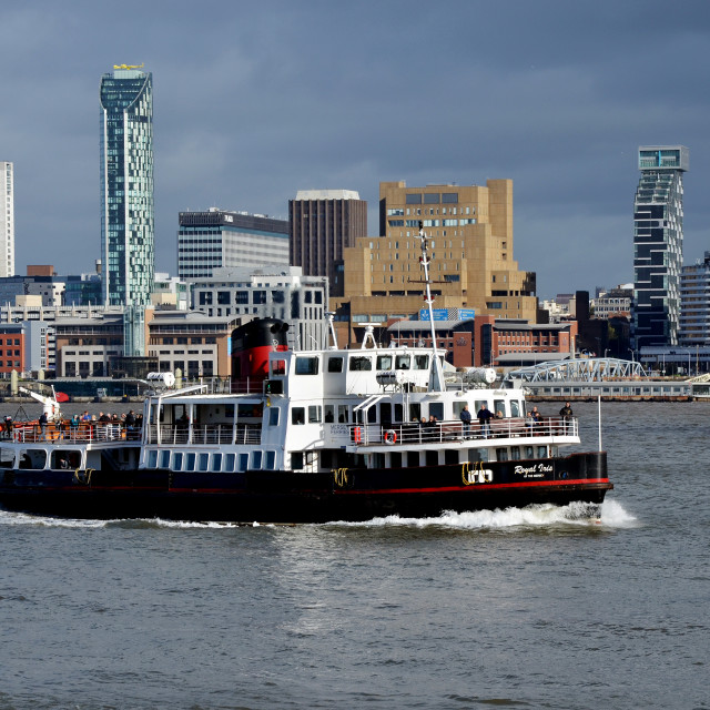 """Mersey Ferry Boat Royal Iris"" stock image"