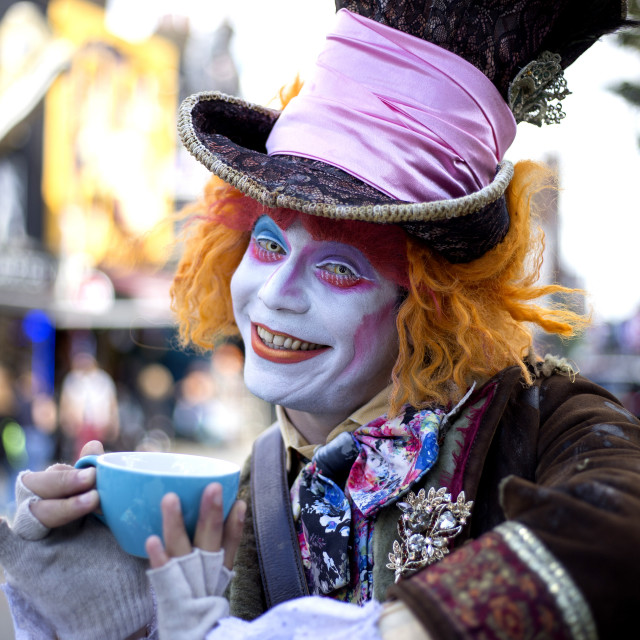 """""""Mad Hatter"""" stock image"""
