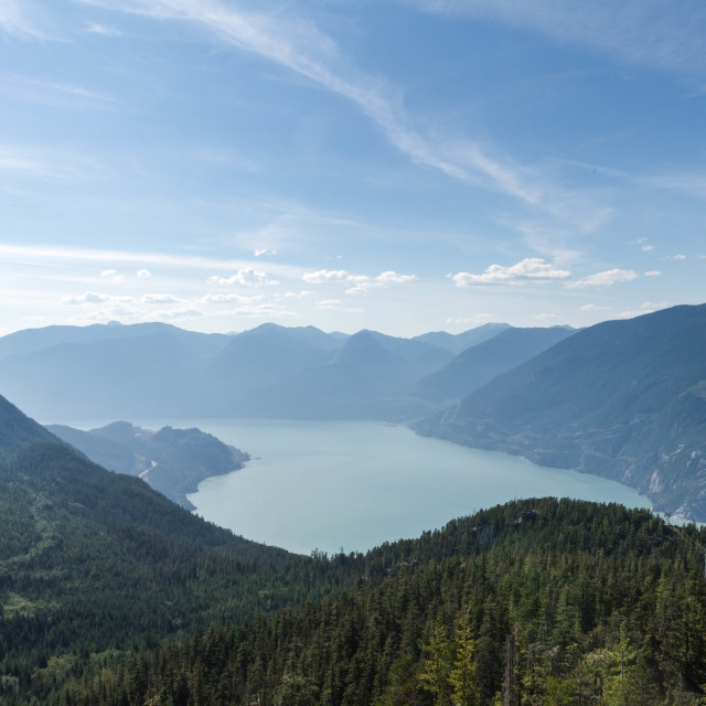 """Views of Squamish"" stock image"