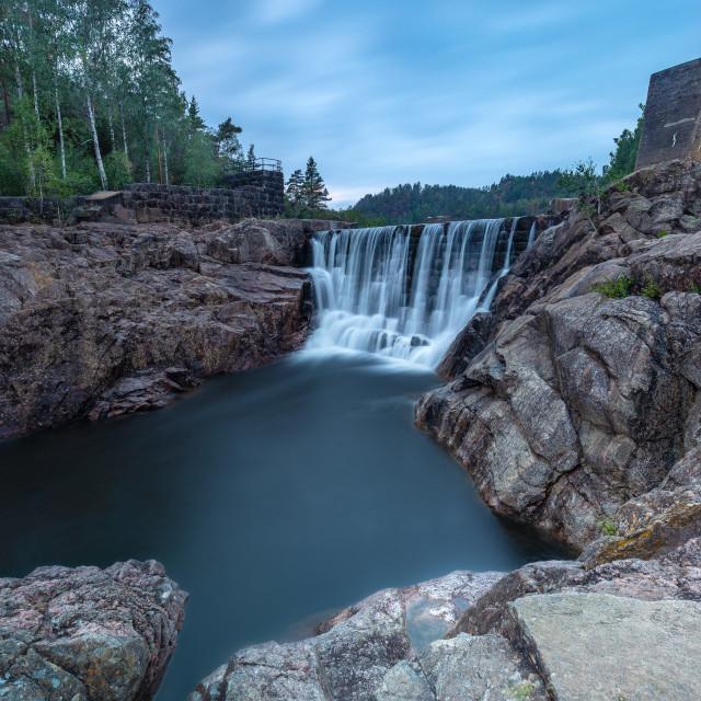 """Dark Falls"" stock image"