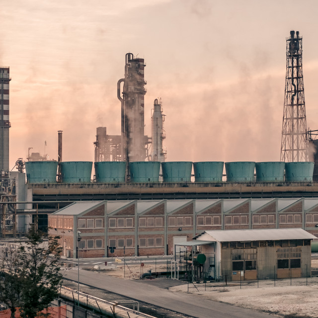 """Industrial plant"" stock image"