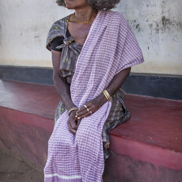 """""""tribal woman from india"""" stock image"""
