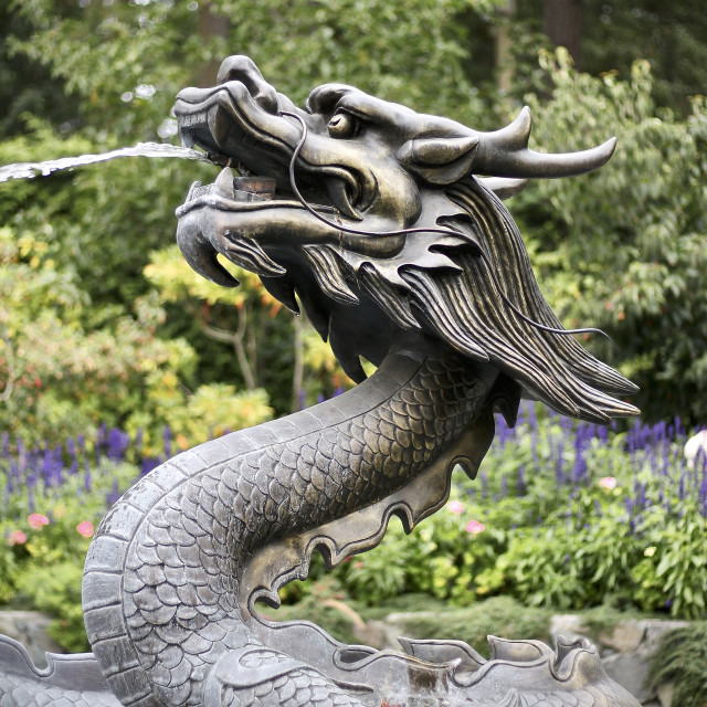 """Garden Dragon"" stock image"