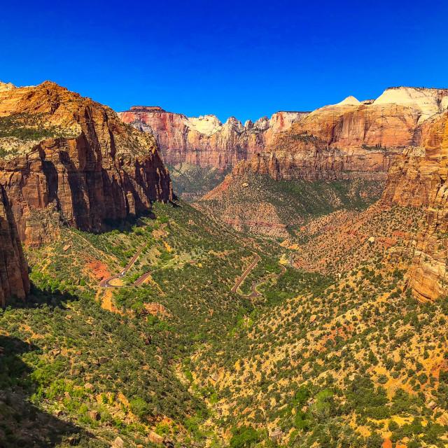 """Mount Zion National Park"" stock image"