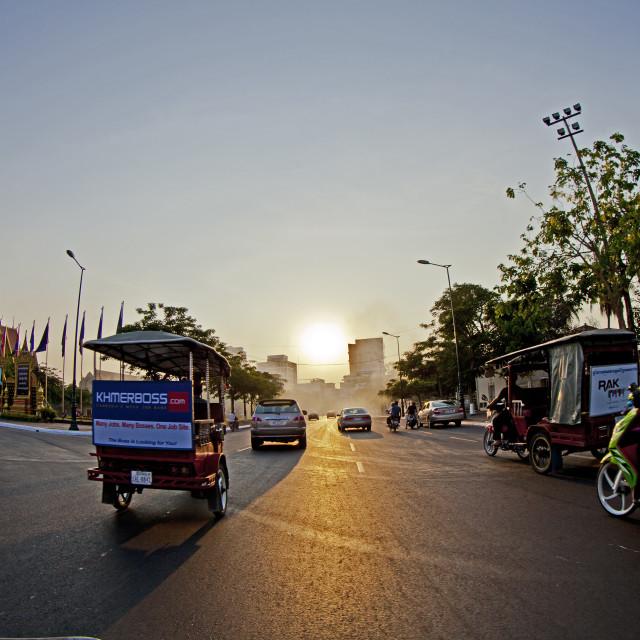 """Phnom Penh City"" stock image"