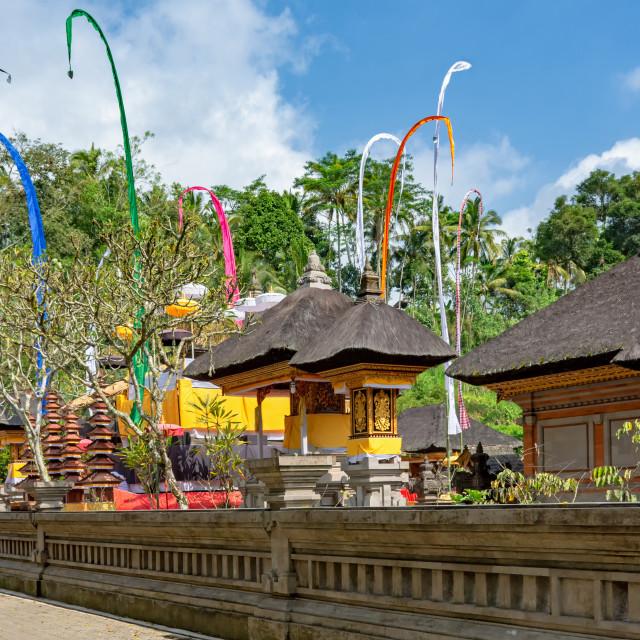 """Pura Tampak Siring, sacred Balinese Hindu temple in Bali, Indonesia."" stock image"