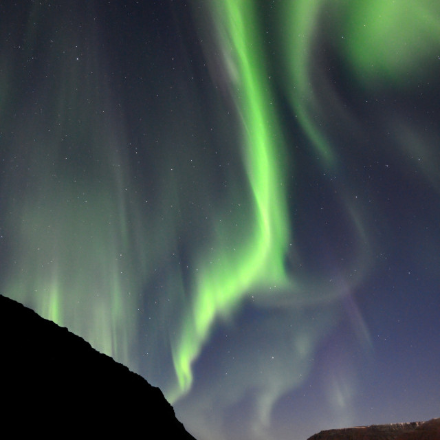 """Aurora Borealis (Northern Lights)"" stock image"