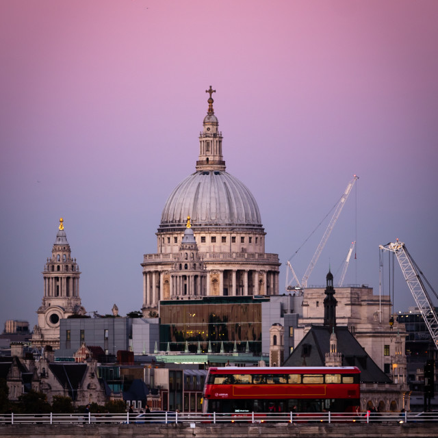 """St Paul's Cathedral"" stock image"