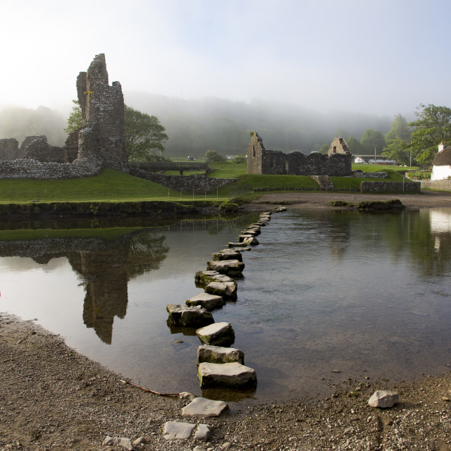 """""""Stepping Stones"""" stock image"""
