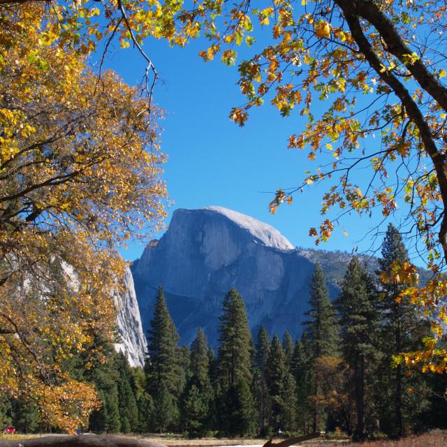 """Half Dome in Yosemite"" stock image"