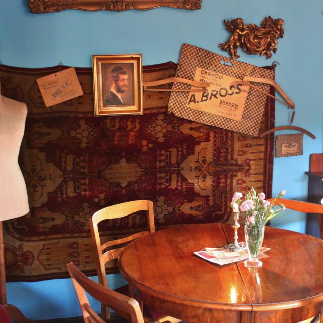 """""""Krakow: Kazimierz restaurant"""" stock image"""