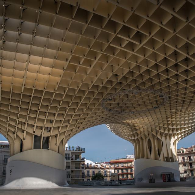 """Metropol Parasol Seville Spain"" stock image"