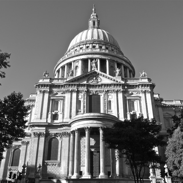 """St.Paul's Cathedral"" stock image"