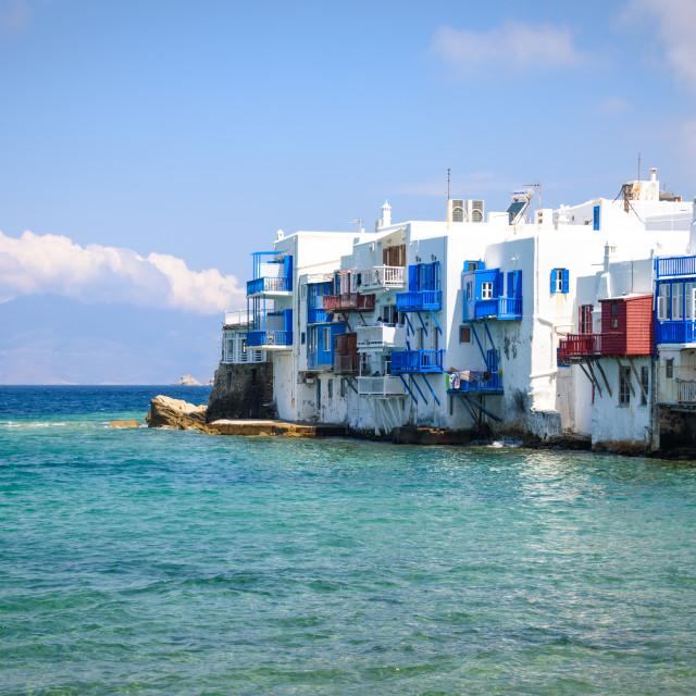 """Mykonos Island Greece"" stock image"