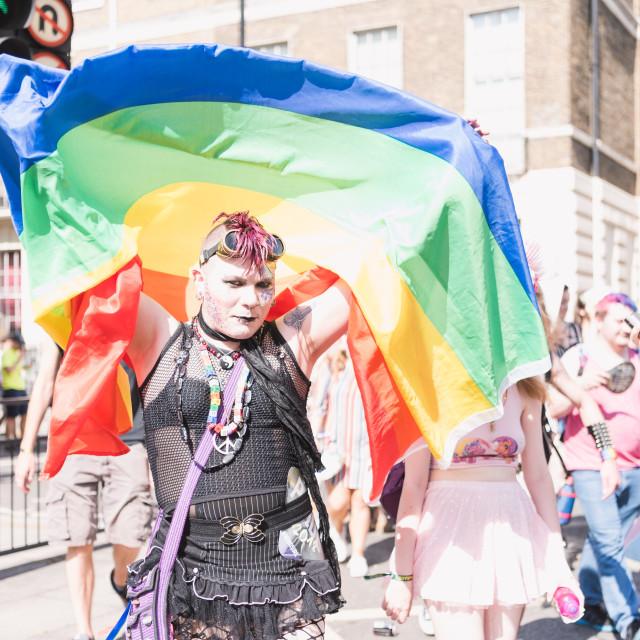 """Pride London"" stock image"