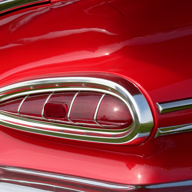 """Red Tail Light"" stock image"