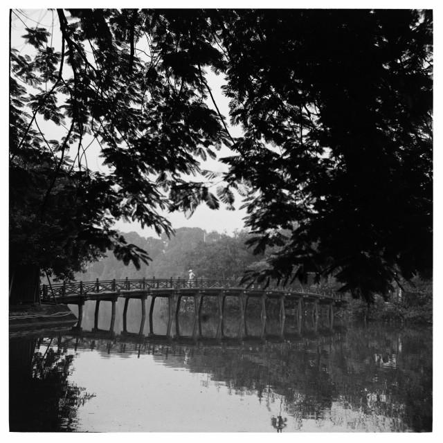 """Hanoi- Sword lake"" stock image"