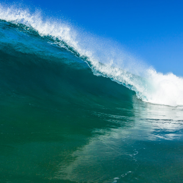"""Ocean Wave Water Photo"" stock image"