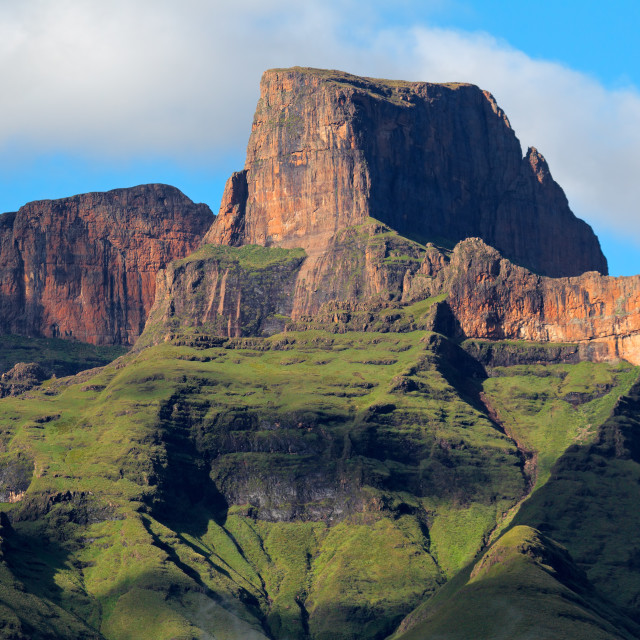 """Drakensberg mountains - South Africa"" stock image"