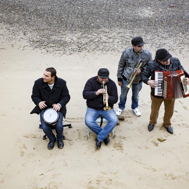 """Sand Band"" stock image"