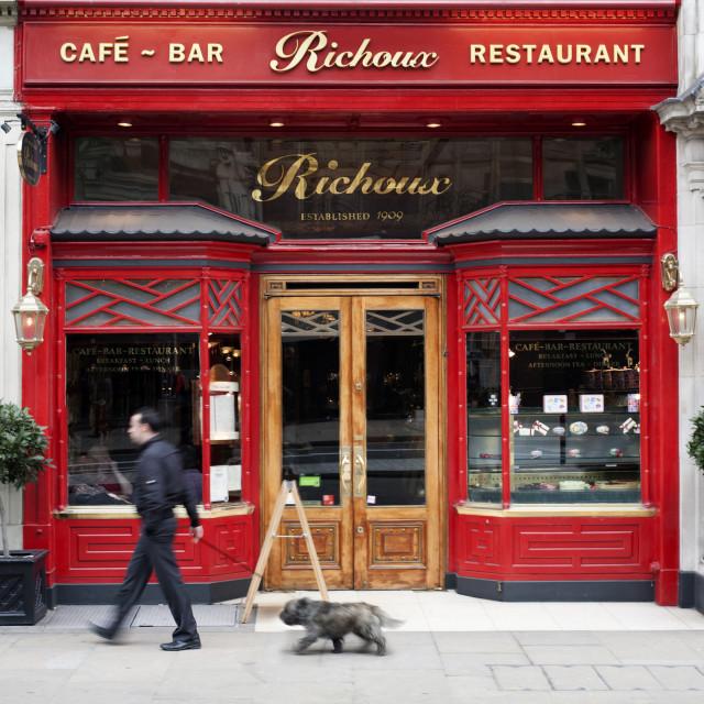 """""""Café Bar Restaurant"""" stock image"""