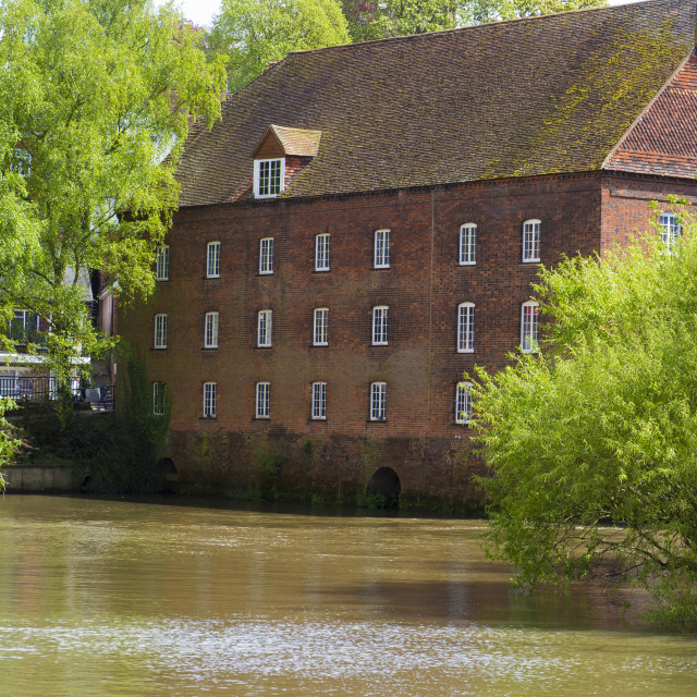 """""""The Town Mill & Studio ,Guildford ,Surrey"""" stock image"""