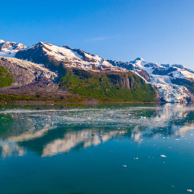 """College Fjord Alaska"" stock image"