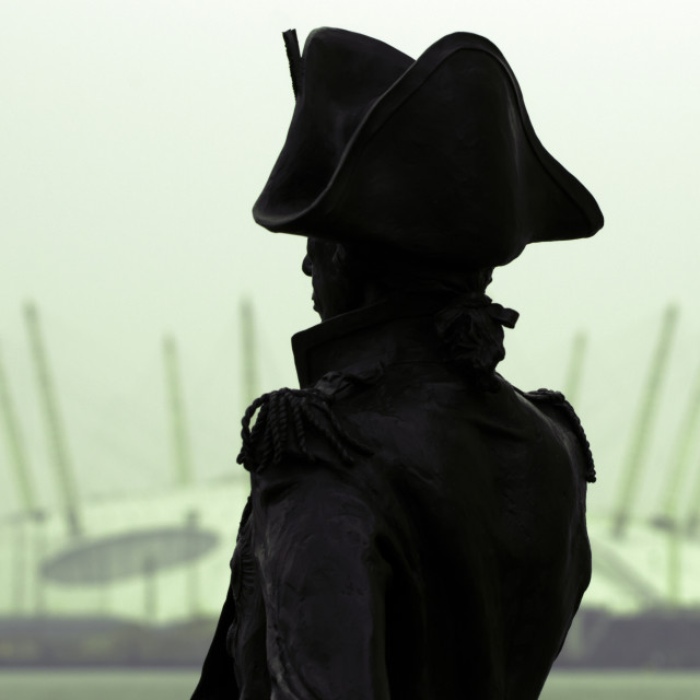 """""""Admiral Nelson @ The O2 Arena"""" stock image"""