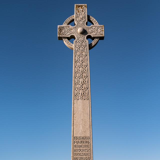 """""""Tennyson Monument - IOW"""" stock image"""