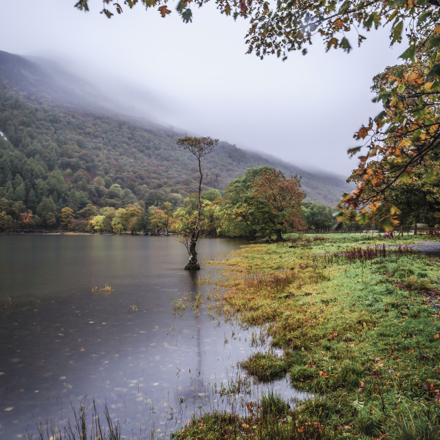 """Autumn On The Lakes"" stock image"