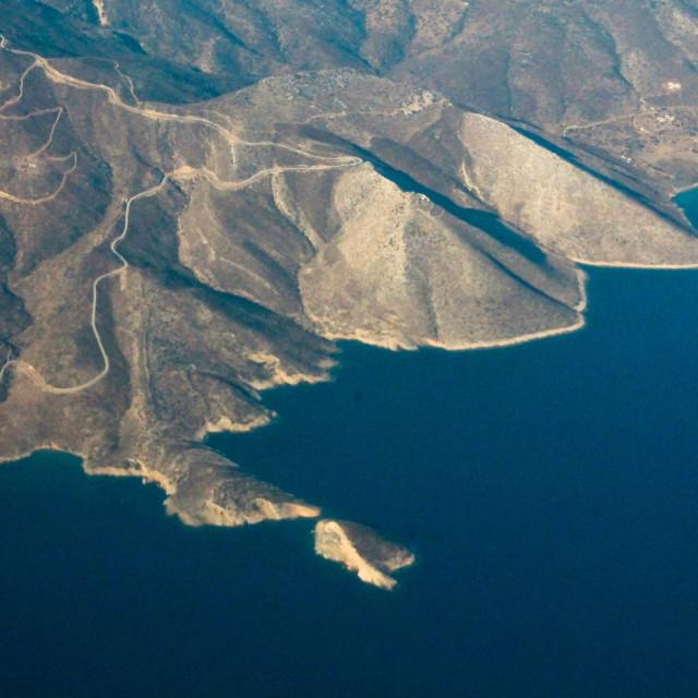 """Ios Island view"" stock image"
