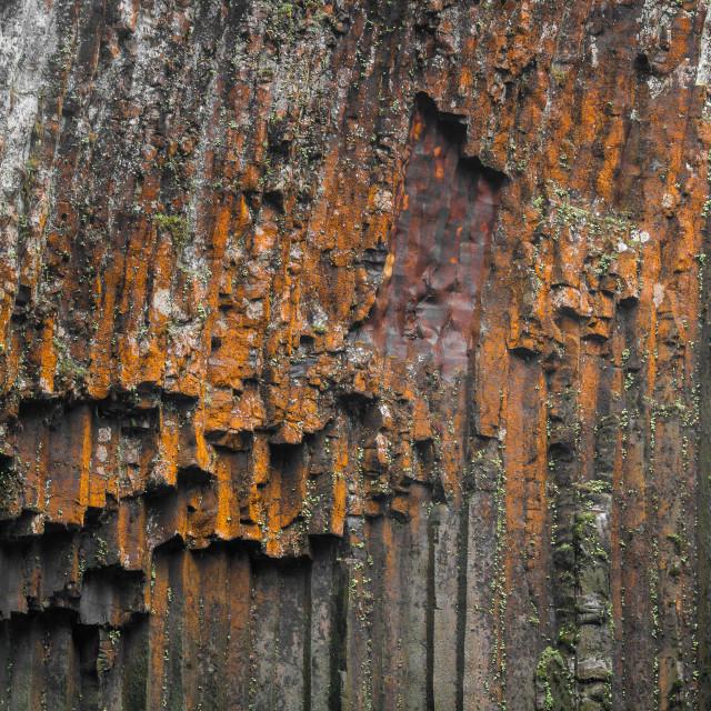 """Basalt columns"" stock image"