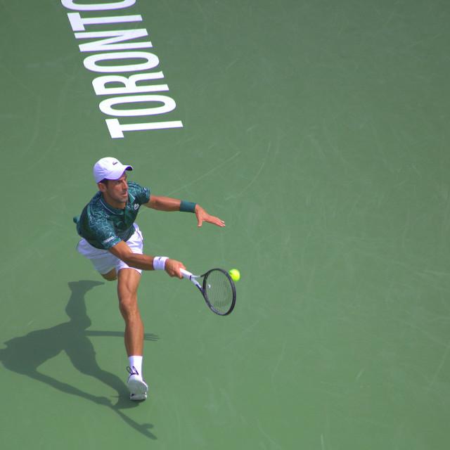 """""""Novak Djokovic"""" stock image"""