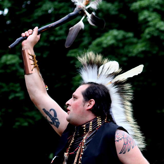 """Indigenous Man II"" stock image"