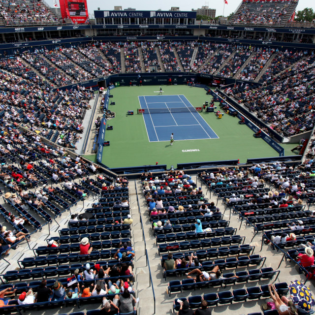 """Rogers Cup 2018"" stock image"