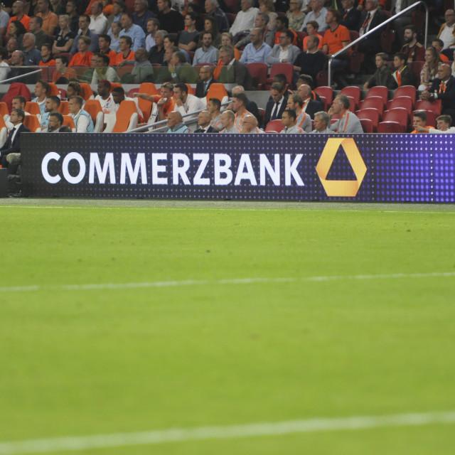 """Football International The Netherlands vs Germany"" stock image"
