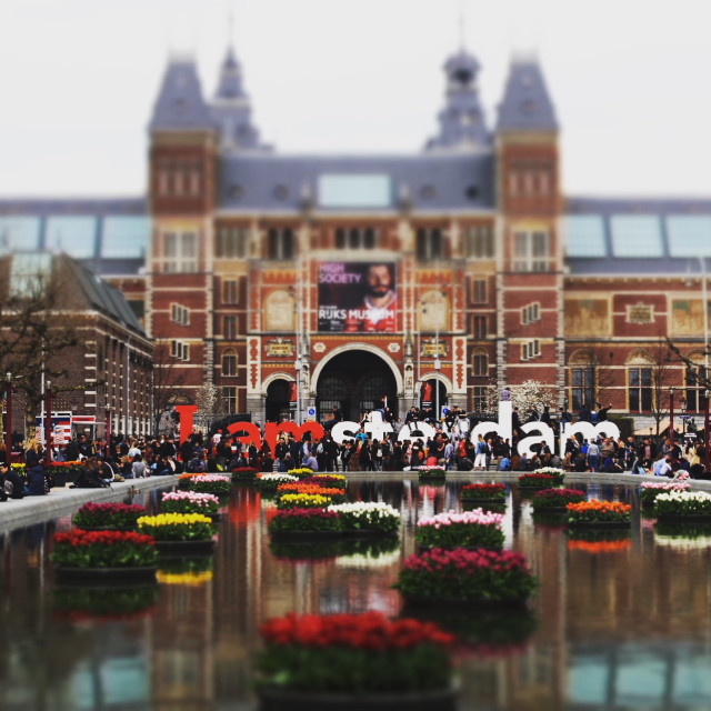 """IAmSterdam"" stock image"