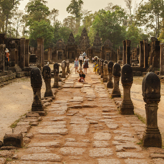 """Preah Khan"" stock image"